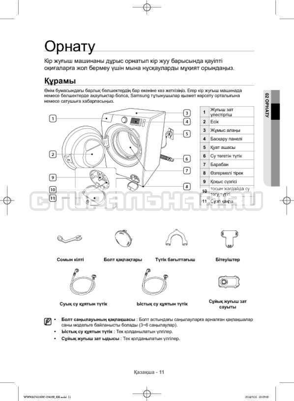 Инструкция Samsung WW80H7410EW страница №99